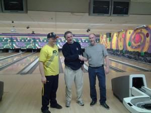 Ed Tojeck, Carl Bueme Jr, Ron Bruckman